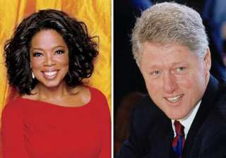 bill clinton oprah winfrey to receive medal of...