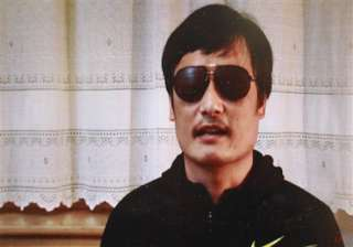 blind chinese activist flees house arrest - India...