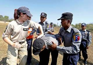 britain to help myanmar reform police force -...
