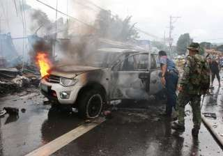 car bombing kills eight in philippines - India TV