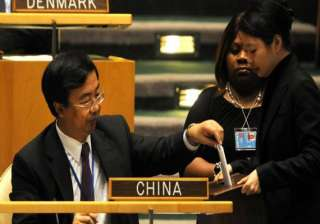 china re elected to un economic and social...
