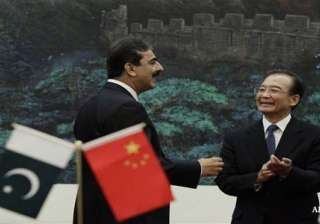 china tells pak to mend fences with india - India...