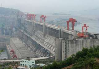 china s three gorges dam to displace one lakh...