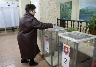 crimea votes on whether to secede from ukraine -...