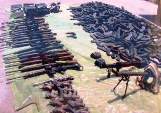 egypt seizes weapons smuggled from libya - India...