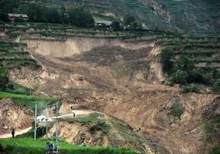 eight die in china landslide - India TV