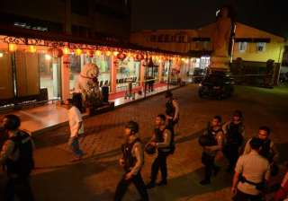 explosive goes off at buddhist temple in...