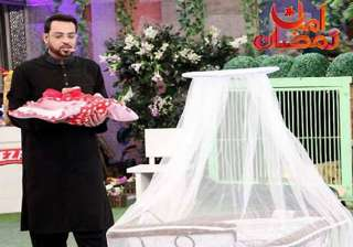furore over pak tv quiz show host gifting orphan...