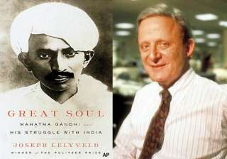 gandhi book based on letters in archives says...