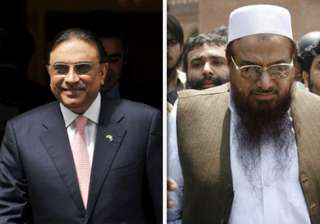 hafiz saeed not to be focus of talks with...