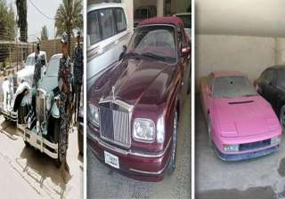 have a look at the luxury cars of saddam hussein...