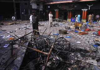 hindu temple desecrated set on fire in pakistan -...