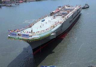 india s aircraft carrier ins vikrant a threat...