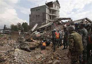 66 lakh people affected in nepal earthquake...