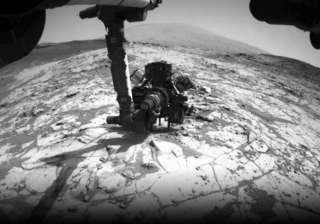 curiosity set to drill into crystal rich rock on...