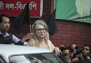 khaleda zia accuses govt of turning bangladesh...