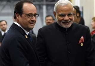 pm modi gifts tree of life painting to french...