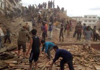 nepal earthquake death toll rises to 25 117...