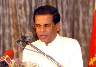 won t take revenge will promote buddhism sirisena...