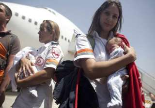 israel evacuates its surrogate babies from nepal...