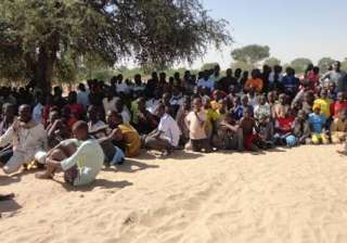 over 7 000 refugees flee to chad after nigeria...