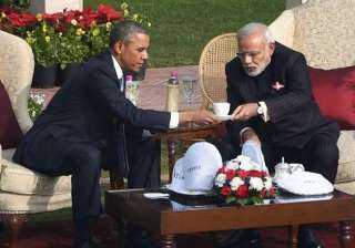 obama had a historic visit to india - India TV