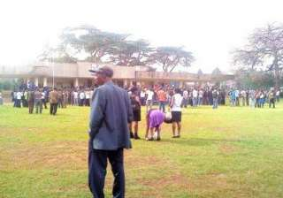terror scare at kenya university campus one dead...