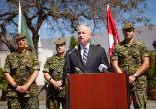 canada to provide iraq with non lethal gear to...