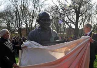 pm modi unveils bust of gandhi in german city of...
