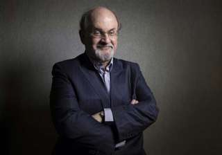 salman rushdie threatened over book defends free...