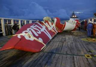 tail of airasia plane arrives at port airbus...