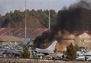 spain 10 dead 21 hurt in crash of greek f 16 jet...