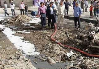 8 killed in suicide bomb attack in iraq - India TV