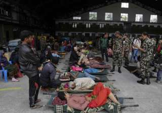terrified nepal patients refuse treatment inside...