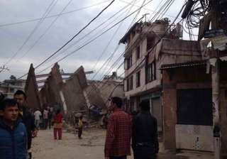 nepal quake see exclusive pictures - India TV