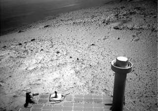 opportunity rover takes in view from top of...