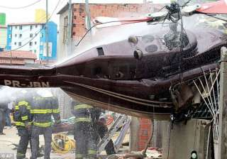 four dead as helicopter crashes in brazil - India...