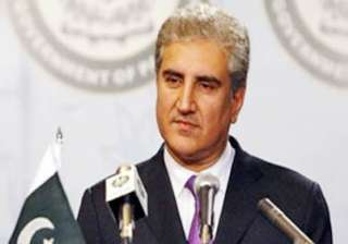 pakistan accepts indian aid offer qureshi - India...