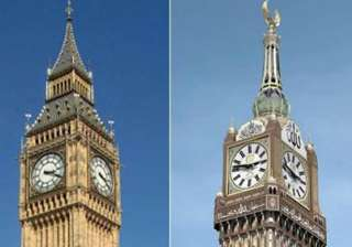 giant mecca clock challenges supremacy of...