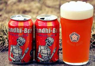 gandhi s image on beer cans us company draws ire...