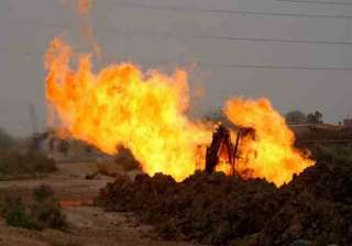 another gas pipeline blown up in pakistan - India...