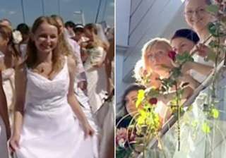 over 100 polish brides raise money for sick boy -...