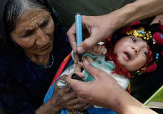 first ever polio injection drive launched in...