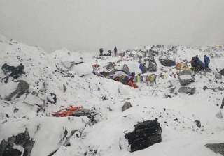 54 year old indian trapped on avalanche struck...
