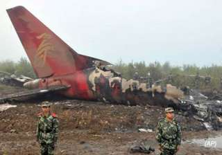 bodies of 42 passengers killed in china plane...