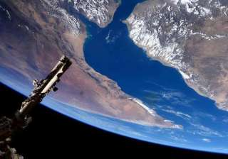 nasa releases images of earth taken from iss to...