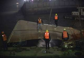 21 confirmed dead in tugboat capsizing in eastern...