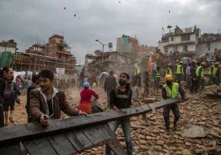 nepaldevastated earthquake leaves over 3300 dead...
