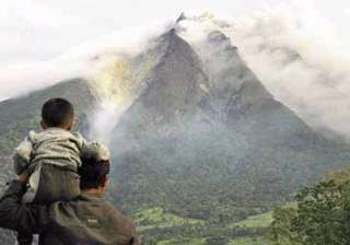 thousands flee as volcano erupts after 400 years...