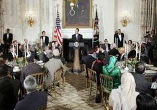 at iftaar party obama supports building of mosque...